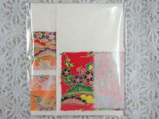 月桃手作りポチ袋 [紅型]