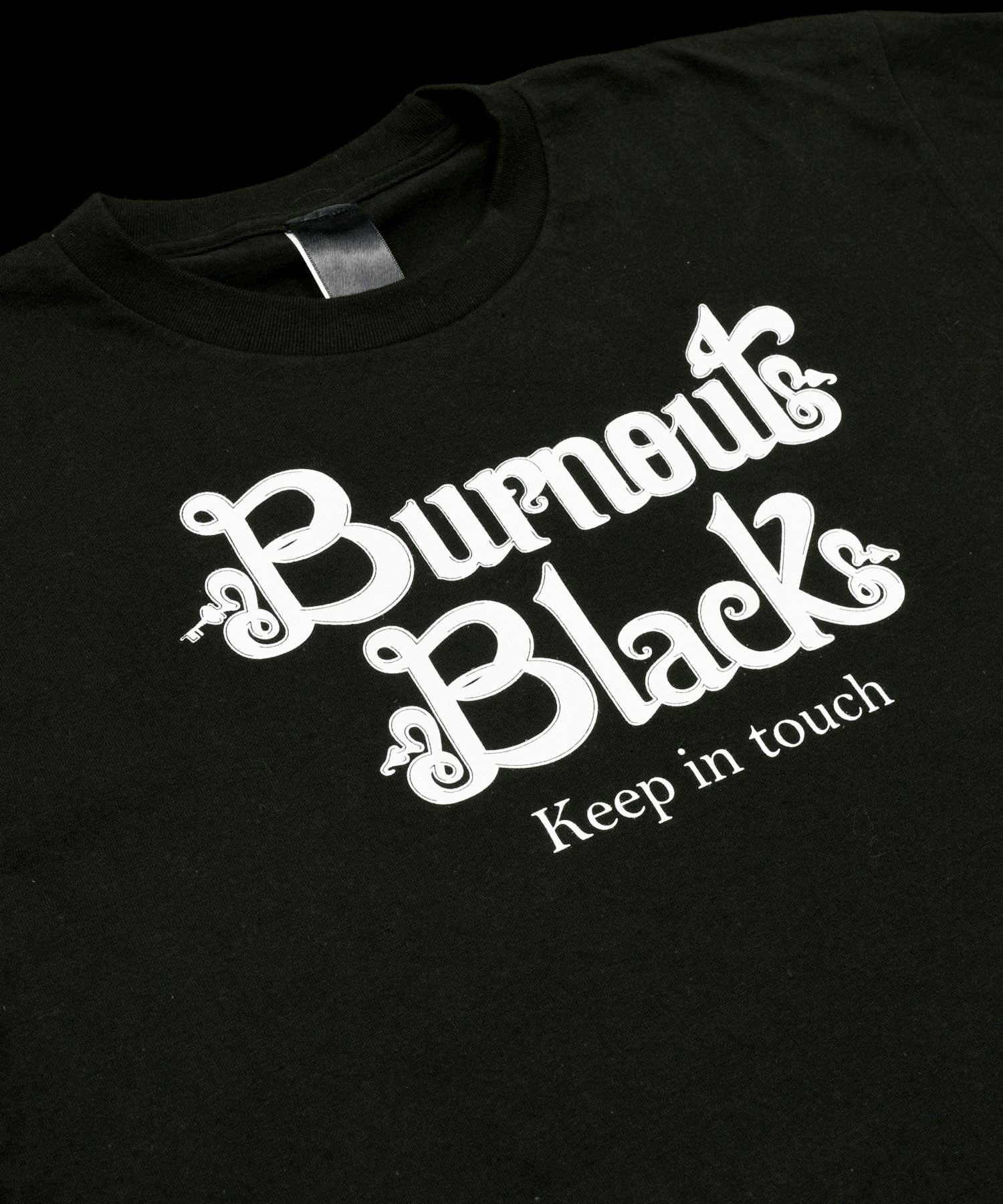 KEEP IN TOUCH T-SHIRT / BLACK