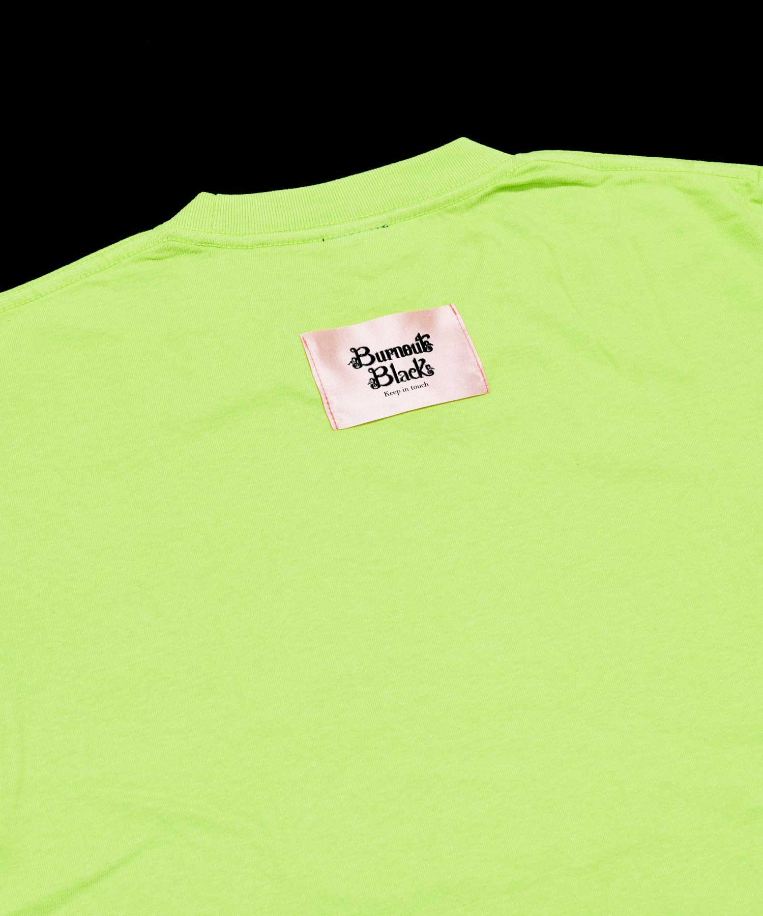 KEEP IN TOUCH T-SHIRT / LIGHT GREEN
