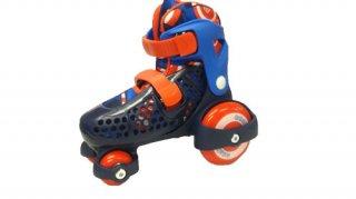 安心構造で楽しくスケート 調整タイプEZ ROLL(イージーロール) W1362B ボーイズ 17〜21�のお子さん対象