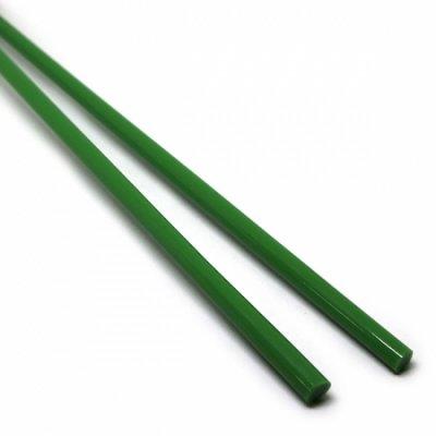 《生徒価格で販売中》【C7-g】ガラスロッド(緑アルカリシリケートガラス)100g