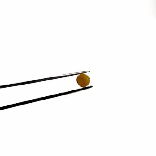 【C23-c】ガラスロッド(クリア茶アルカリシリケートガラス)100g