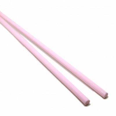 【CS3-p3】ガラスロッド(ピンクアルカリシリケートガラス)100g