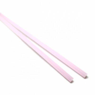 【CS16-p1】ガラスロッド(乳白ピンクアルカリシリケートガラス)100g