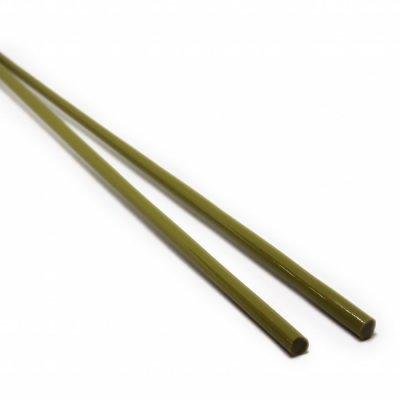 【CX113】ガラスロッド(緑(抹茶)アルカリシリケートガラス)100g