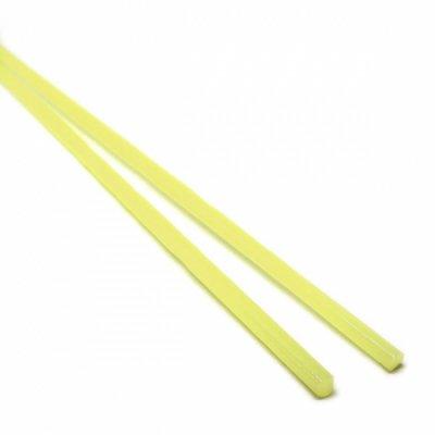 【CX150】ガラスロッド(乳白黄色アルカリシリケートガラス)100g