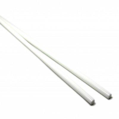 【CX169】ガラスロッド(オフホワイトアルカリシリケートガラス)100g