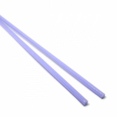 【CX172】ガラスロッド(青紫アルカリシリケートガラス)100g