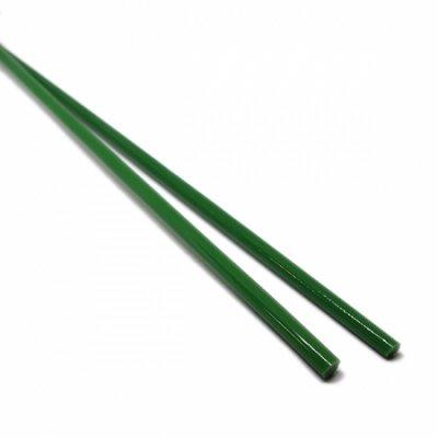 【CX174】ガラスロッド(緑アルカリシリケートガラス)100g