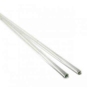 《生徒価格で販売中》【A11】ガラスロッド(無色透明クリスタル(鉛)ガラス)100g