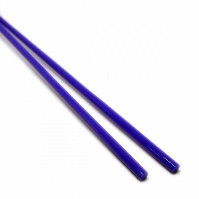 【A20】ガラスロッド(青クリスタル(鉛)ガラス)100g