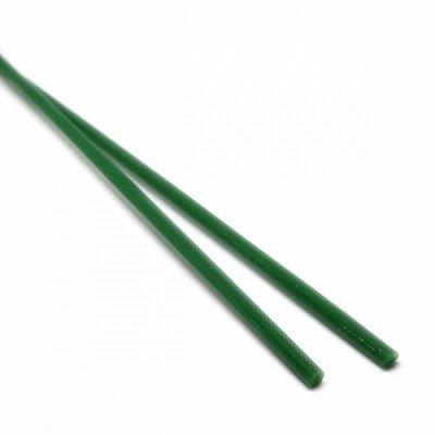 【A50】ガラスロッド(緑クリスタル(鉛)ガラス)100g