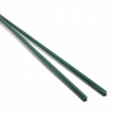 【A74】ガラスロッド(深緑クリスタル(鉛)ガラス)100g