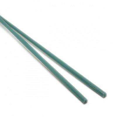 【A112】ガラスロッド(乳白青緑クリスタル(鉛)ガラス)100g