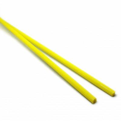 【B20】ガラスロッド(黄色ソーダガラス)100g