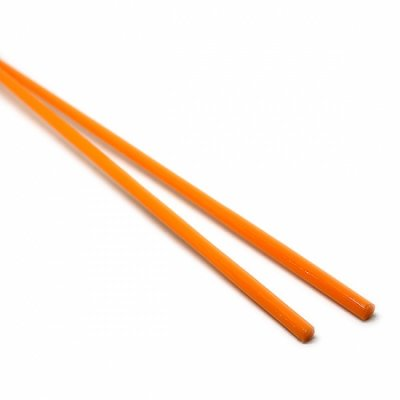 【B21】ガラスロッド(オレンジソーダガラス)100g
