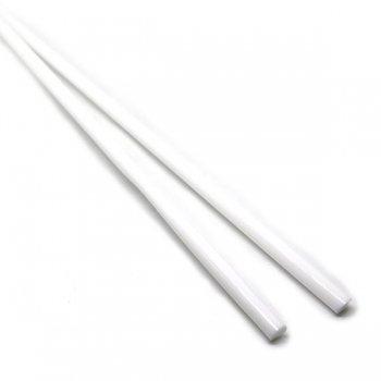 ハーフサイズ【C2-w】ガラスロッド(白アルカリシリケートガラス)100g