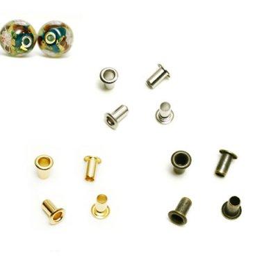 ビーズキャップ beadcap 2mm(1.5mm芯用)4個