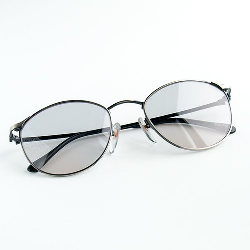 バーナーワーク専用メガネ アイプロテクターベーシックガンメタ2(黒)358