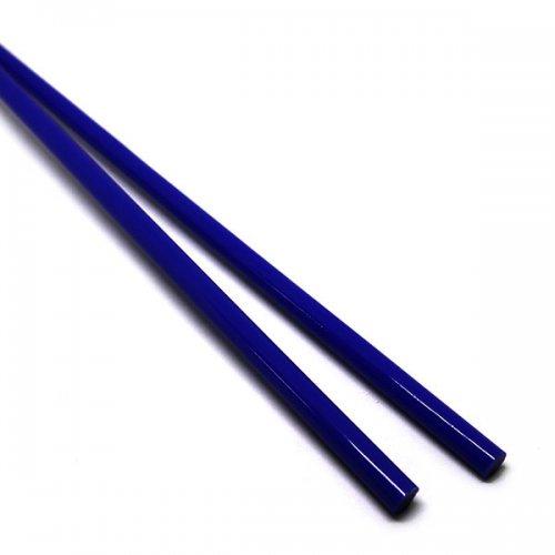 《生徒価格で販売中》【C5-b】ガラスロッド(紺アルカリシリケートガラス)100g