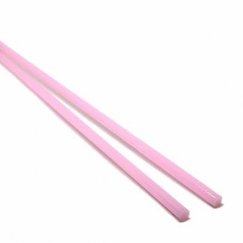 ハーフサイズ【CS2-p3】ガラスロッド(ピンクアルカリシリケートガラス)100g