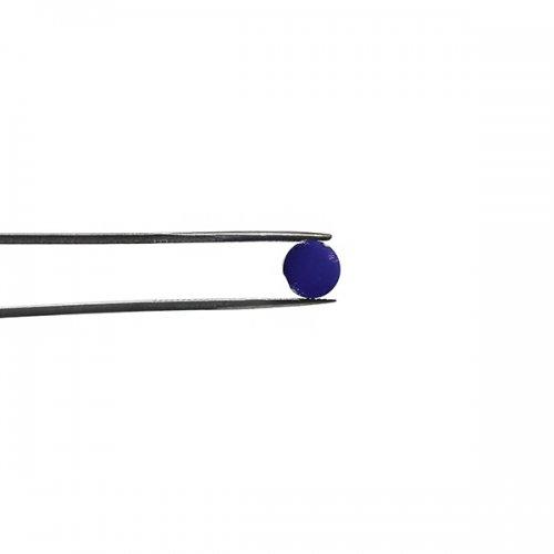 【C34-m】ガラスロッド(クリア濃青紫アルカリシリケートガラス)100g