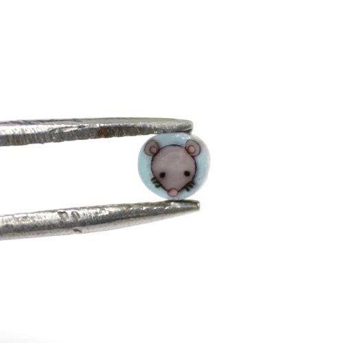 ミルフィオリパーツ ネズミ01 15粒入