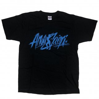Tシャツ・安納サオリ・黒・XL