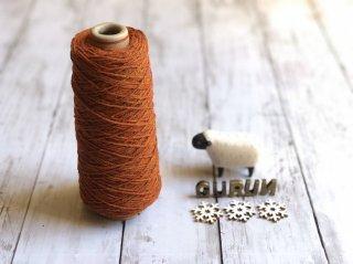 尾州の織糸 ウール100% #18 太さ 100g