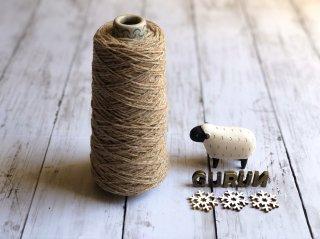 尾州の織糸 ウール100% #9 太さ 100g