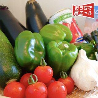 《よがんす白竜》 旬の野菜をイタリアンで楽しむセット ★送料込み(一部地域を除く)★