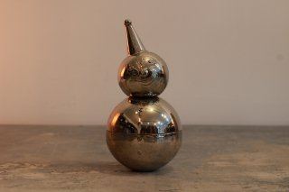 RAIMOND ROLY-POLY CLOWN METAL BANK