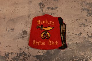 VINTAGE SHRINER CLUB PATCH