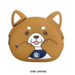 忠犬もちしば mimi POCHI(ミニポーチ)(おかか)