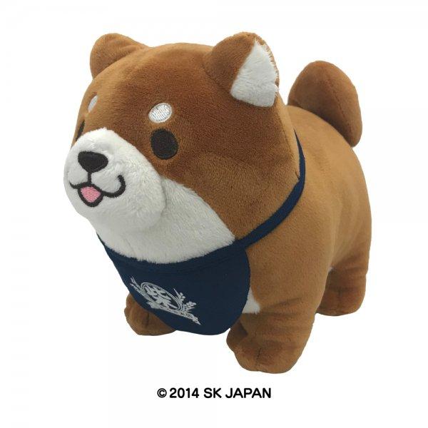 忠犬もちしば ぬいぐるみ Sサイズ(おかか)