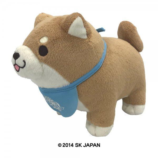 忠犬もちしば ぬいぐるみ Sサイズ(もなか)