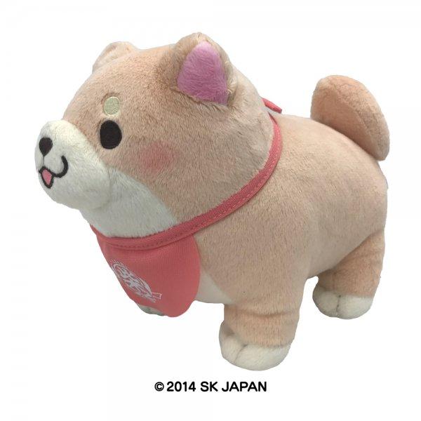 忠犬もちしば ぬいぐるみ Sサイズ(さくら)