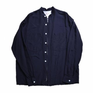 <img class='new_mark_img1' src='https://img.shop-pro.jp/img/new/icons1.gif' style='border:none;display:inline;margin:0px;padding:0px;width:auto;' />ZIP-UP SILK SHIRTS[EXCLUSIVE]