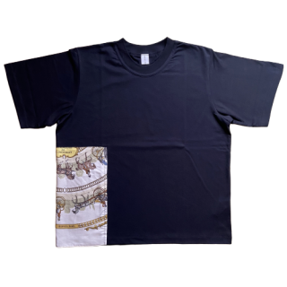 <img class='new_mark_img1' src='https://img.shop-pro.jp/img/new/icons1.gif' style='border:none;display:inline;margin:0px;padding:0px;width:auto;' />double neck Tshirt -hermes vintage-[EXCLUSIVE]22