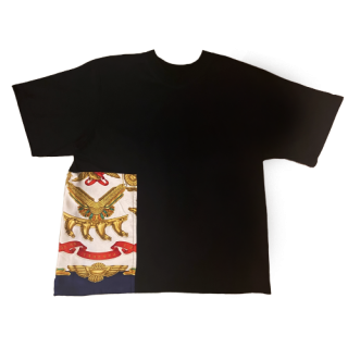 <img class='new_mark_img1' src='https://img.shop-pro.jp/img/new/icons1.gif' style='border:none;display:inline;margin:0px;padding:0px;width:auto;' />double neck Tshirt -hermes vintage-[EXCLUSIVE]27