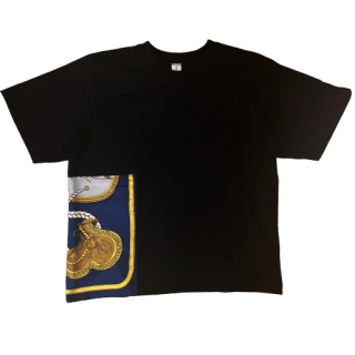 <img class='new_mark_img1' src='https://img.shop-pro.jp/img/new/icons1.gif' style='border:none;display:inline;margin:0px;padding:0px;width:auto;' />double neck Tshirt -hermes vintage-[EXCLUSIVE]28