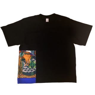 <img class='new_mark_img1' src='https://img.shop-pro.jp/img/new/icons1.gif' style='border:none;display:inline;margin:0px;padding:0px;width:auto;' />double neck Tshirt -hermes vintage-[EXCLUSIVE]29