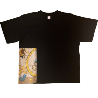<img class='new_mark_img1' src='https://img.shop-pro.jp/img/new/icons1.gif' style='border:none;display:inline;margin:0px;padding:0px;width:auto;' />double neck Tshirt -hermes vintage-[EXCLUSIVE]30