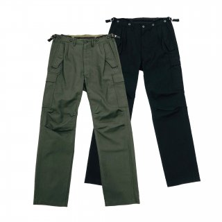 Washed Millitary Cargo Pants