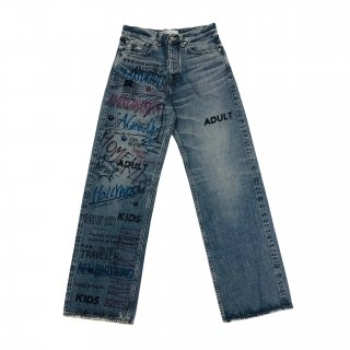 <img class='new_mark_img1' src='https://img.shop-pro.jp/img/new/icons1.gif' style='border:none;display:inline;margin:0px;padding:0px;width:auto;' />Painted Damage Denim Pants