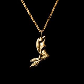 「MERMAID Necklace」 SV925 GoldCoating