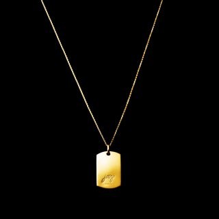 「JANTAG」Necklace  SV925 Gold Coating