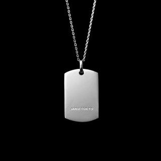 「JANTAG」Necklace  SV925 Rodium Coating