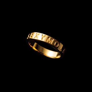 「SEXYMOLA Ring」 SV925 GoldCoating