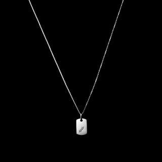 「MINITAG Necklace」 K18WG